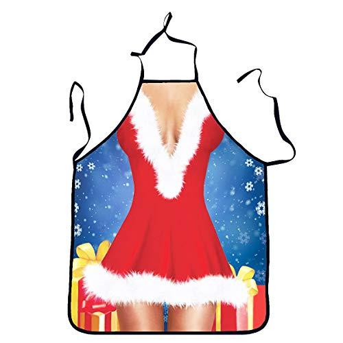 BESTOYARD Cucina Sexy del Grembiule di Natale delle Donne di Natale del Grembiule Che Cucina Le Decorazioni Festive del Partito del Grembiule