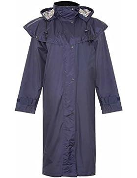 Abrigo de equitación Sandringham de mujeres de tejido impermeable, para finca de campo, de Champion