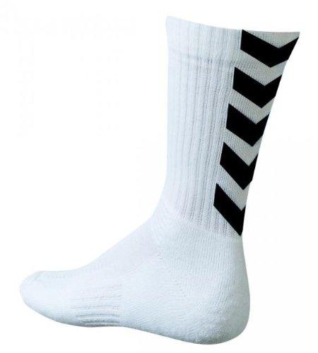 hummel-chaussette-authentic-blanc-noir-blanc-39-42