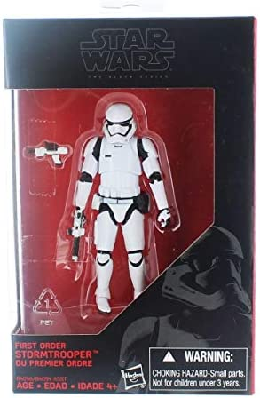 Star Wars, 2015 The Black Black Black Series, First Order Stormtrooper [The Force Awakens] Exclusive Action Figure, 3.75 Inches | Un Design Moderne  26e83b