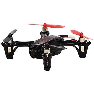 STOGA Tfun STG001 Hubsan 4 X H107C 2.4G 4CH RC Quadcopter con c¨¢mara RTF(Black/Red) ?