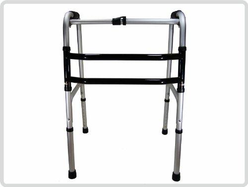 Gehgestell, Gehbock, Gehhilfe, Stehhilfe, Reziprok, faltbar, höhenverstellbar aus Aluminium*Top-Qualität zum Top-Preis*