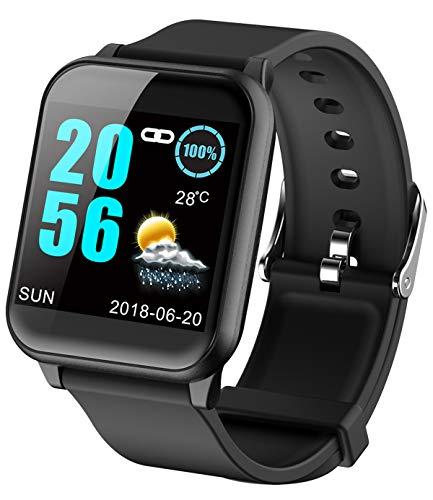 Erwachsene, Blutdruckmesser (Fitness Armband Smartwatch Pulsmesser ECG PPG Blutdruckmesser Schrittz?hler Farbbildschirm Aktivit?tstracker)