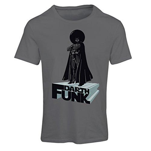 lepni.me T-Shirt Femme I Love Funk (Small Graphite Multicolore)