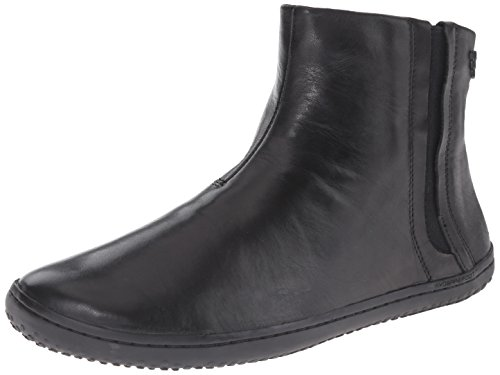 Chaussures Vivobarefoot Chelsea Cuir Noir Femme Black