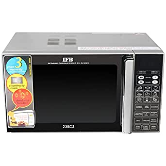 IFB 23 L Convection Microwave Oven (IFB 23SC3, Metallic Silver)