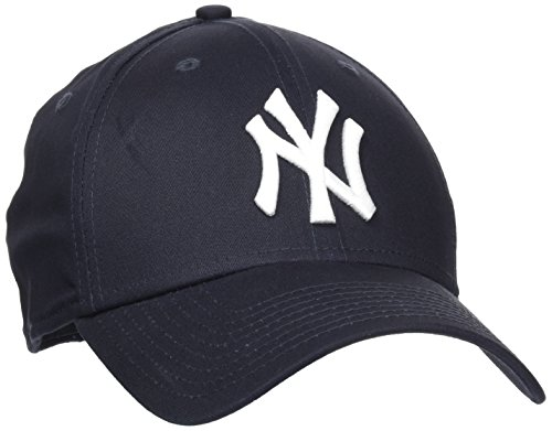 New Era Herren Baseball Cap Mütze M/LB Basic NY Yankees 39Thirty Stretch Back, Navy/ White, S/M, 10145636 Navy Fitted Cap