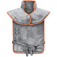 ATMOKO Coussin Chauffant 60 x 85cm pour Epaules et Dos Portable avec 3 Niveaux de Températures, Protection contre Surchauffe Ultra-Doux pour Relaxation et Détente du Corps