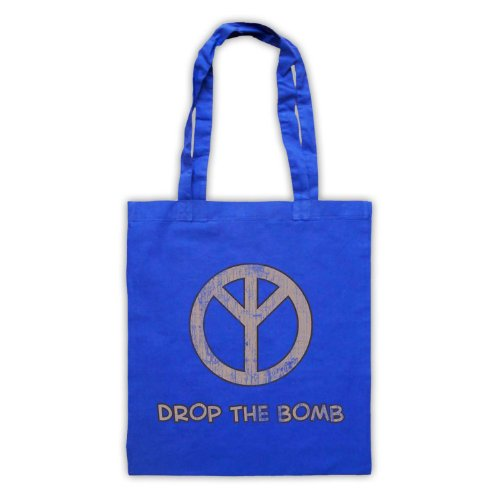 My Icon Art & Clothing , Borsa da spiaggia  Uomo-Donna Blu