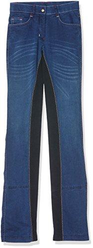 HKM Damen Kinder Jodhpur Reithose Summer Denim, jeansblau/dunkelblau, 42, 544960 Stretch Jodhpur