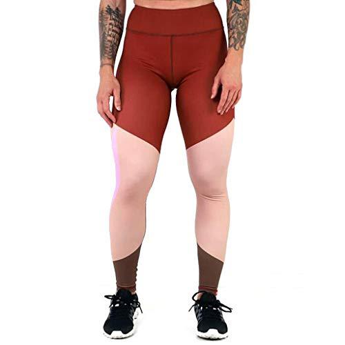 Xmiral Pantaloni Sportivi Pantaloni Yoga Pantalone Yoga Pantalone Largo Donna Pants Donna S Rosso