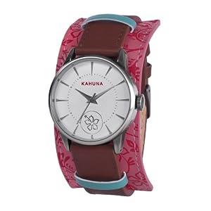Kahuna KLS-0247L – Reloj para Mujeres, Correa de Cuero Color marrón