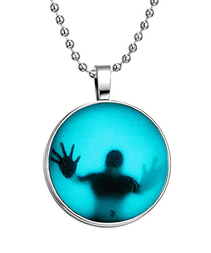 Specter Noctilucence Halskette Luminous Anhänger (Halloween Ghost Dekorationen)