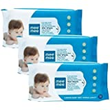 Mee Mee's Caring Baby Wet Wipes 72 Pcs Pack Of (3) One Tooth Brush Free Rs 49/-