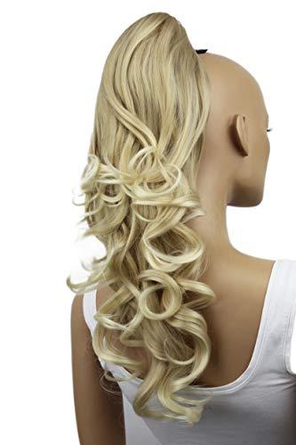 PRETTYSHOP Haarteil Hair Piece Zopf Pferdeschwanz ca 60cm Hitzebeständig wie Echthaar div. Farben HV2
