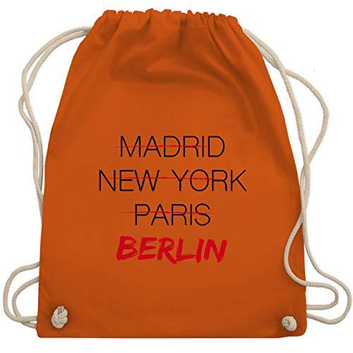 Städte - Weltstadt Berlin - Unisize - Orange - WM110 - Turnbeutel & Gym Bag