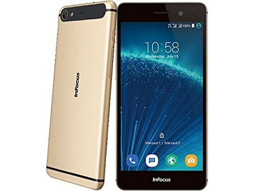 Infocus M808i Dazzling Gold -16Gb/2GB,4G Android 5.1