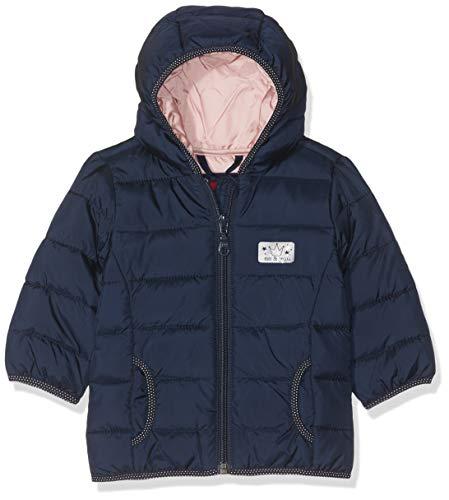 s.Oliver Junior Baby-Mädchen 56.899.51.0755 Jacke, Blau (Dark Blue Printen Stripes 59g1), (Herstellergröße: 86)