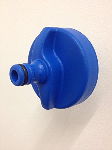 HEOSwater Bouchon de remplissage rapide de réservoir d'eau de camping-car avec raccord pour tuyau. Pour les réservoirs d'eau avec soupape de trop-plein
