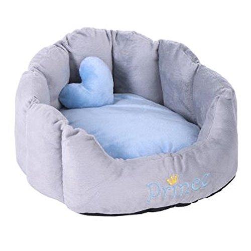 Zooplus Lit Confortable pour Prince Princesse Chats Chiens Lavable