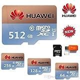 512GB-MicroSD SD-Speicherkarte–mit Kamera & USB-Adapter