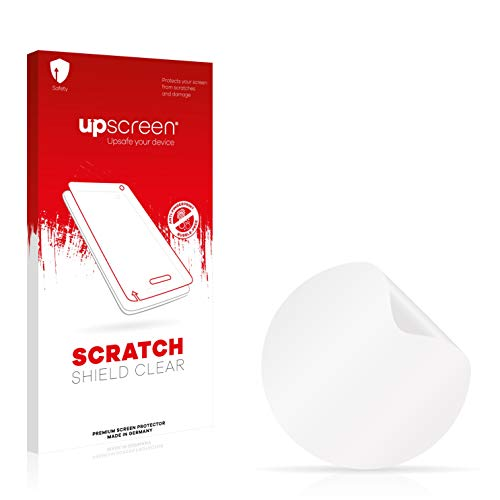 upscreen Schutzfolie kompatibel mit Runtastic Moment Basic - Kristallklar, Kratzschutz, Anti-Fingerprint