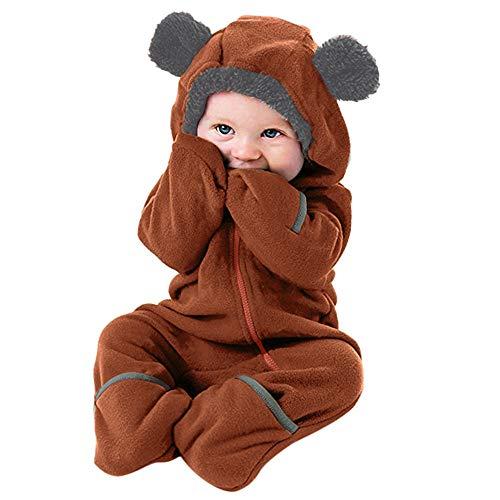 Selou kinder jumpsuit jungen mädchen overall fleece flanell Pyjamas Baby Strampler -