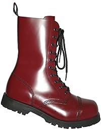 daa9eeb5a496e1 Boots   Braces Stiefel 10-loch Rangers Cherry Rot