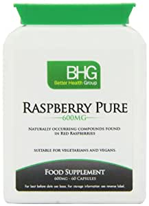 Better Health Group 600mg Raspberry Pure VegiCapsules - Pack of 60