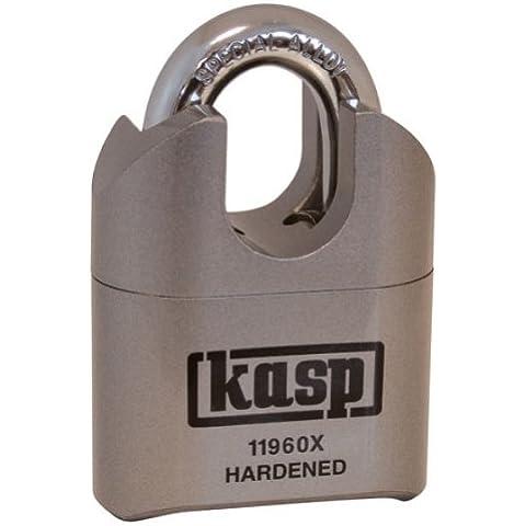 Kasp K11960XD - Candado de combinación, en acero, de alta seguridad: con arco protegido - 60 mm