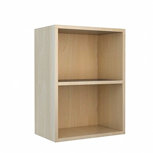 DFHHG® Estantería Librería Librería 40 * 24 * 54 Cm Doble capa de madera Color durable