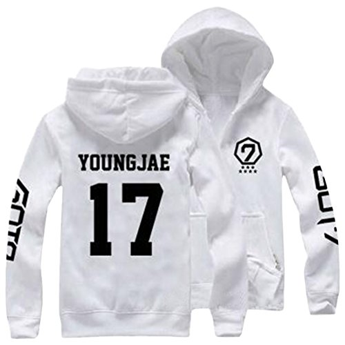 Partiss - Sweat à capuche - Femme YONGJAE 17 White