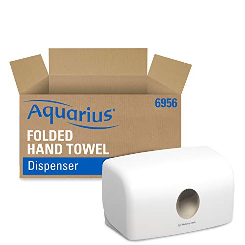 Aquarius 6956 Multifold-Handtuchspender, Weiß, 28, 7 x 15, 9 x 14 cm (B x H x T)
