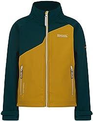 Regatta Boys & Girls Vargo Lightweight Softshell Jacket