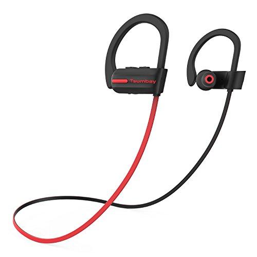 Auriculares Inalámbricos Sin Cable bluetooth impermeables IPX7 cascos deportivos con micrófono 8 horas de autonomía 250 horas en espera y...