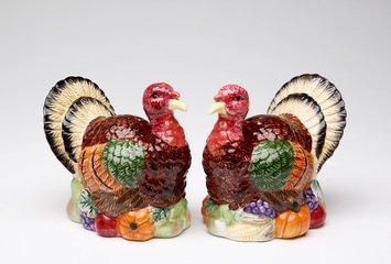 Turquie en porcelaine fine Sel et Poivre Shaker Ensemble de figurine Lenox Ensemble