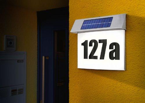 Esotec SOLAR LED Hausnummernleuchte - 4