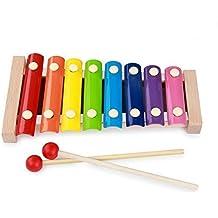 EX1 Bebé Educación JugueteJuego Xilófono Piano Instrumento Musical Aprendizaje Música