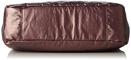 Kipling Caralisa, Sacs Portés Main Femme, 34x25x11 cm Violet (REF34J Metallic Plum)