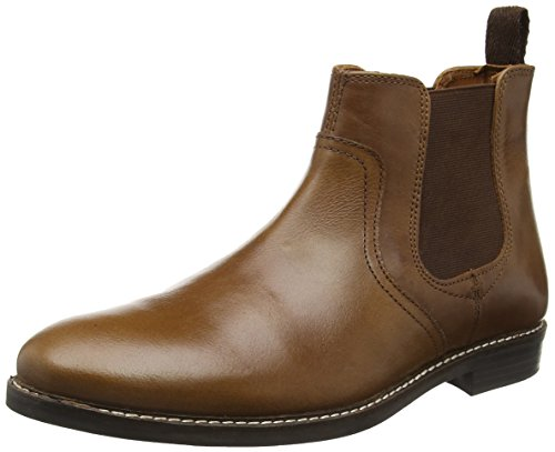 Red Tape Men Newton Chelsea Boots, Brown (Tan Leather), 9 UK 43...