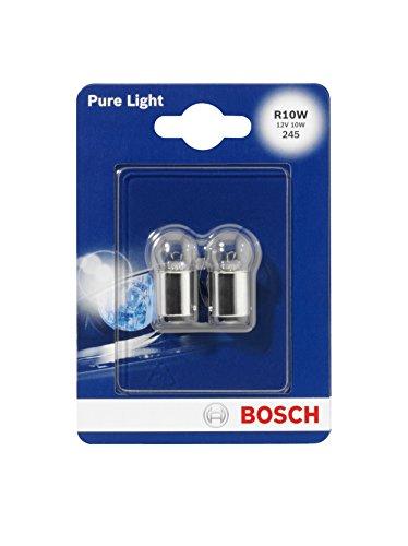 Preisvergleich Produktbild Bosch 1987301019 Autolampe R10W PURE LIGHT - Stopp-/Blinklicht-/Schluss-/Kennzeichenlampe