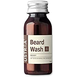 Ustraa by Happily Unmarried Woody Beard Wash, 60ml