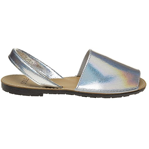Sole Toucan Femme Sandales Metallic metallic