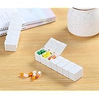 Salamii Pillendose für die Woche, Portemonnaie, Medikamenten-Organizer, Aufbewahrungsbox, Pillendose für Reisen... preisvergleich bei billige-tabletten.eu
