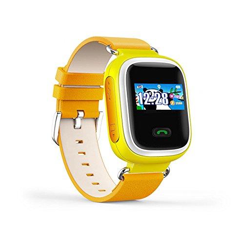 Lemumu Q60 ansehen Touch ScreenPositioning Smartwatch Kinder SOS-Anruf Location Finder Gerät Anti verloren, Orange