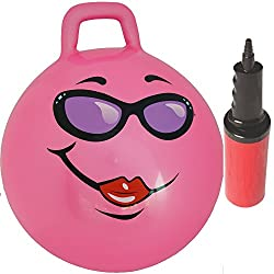 Pink Jumping Hop Hopper Ball: Ages 3-6 (Small)