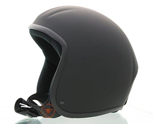 Skorpion CLASSIC TITAN 2-Kulthelm,geschlossene Helmschale Chopper,Ski,Harley,Scooter,Jethelm in schwarz-matt, Gr.: 2XL