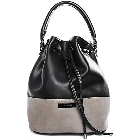 tragwert. - Bolsos de mujer. Bolso de mano bucket bag MIA bolso de mujer bandolera bolso de hombro en cuero