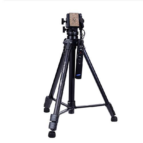 HiXB Fernbedienung Stativ Hochwertiges Aluminiummaterial Leichter Tragbarer MFP 360-Grad-Rotation Praktische Aufbewahrung FüR Kameras Mit 2,5mm-Schnittstelle