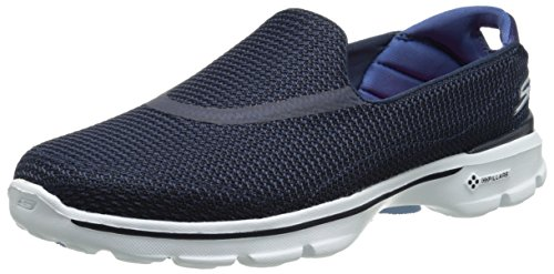 f6cea29424 Skechers Women s GOwalk 3 Low Top Sneakers - Blue (Nvw)